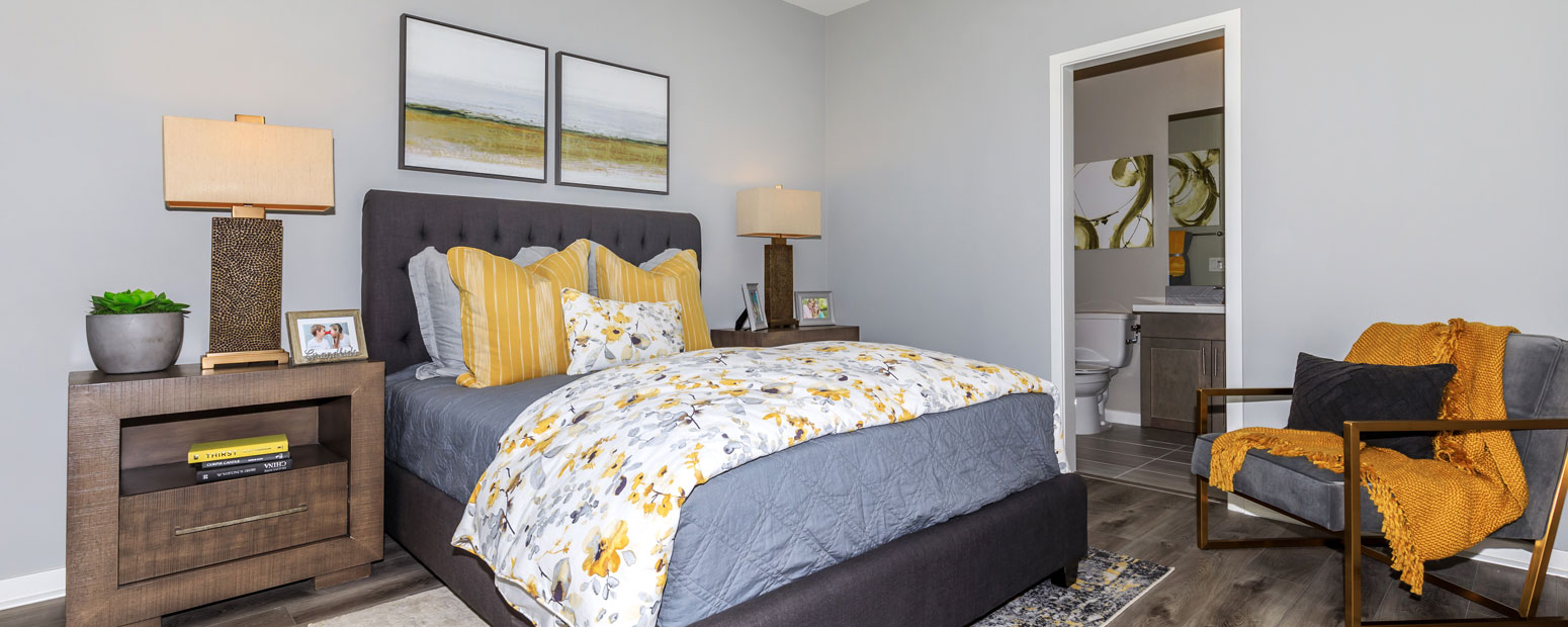 Master Bedroom | Park Place 2B